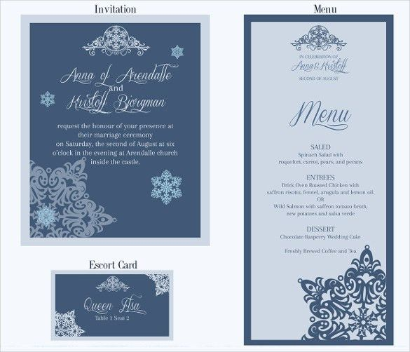 20+ Wedding Drink Menu Template Free | 25 Bar Menu Psd Vector Eps ...