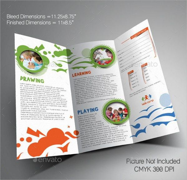 16+ Summer Camp Brochures - Free PSD, AI, EPS Format Download ...