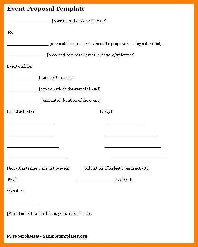 7+ event proposal template microsoft | delivery challan