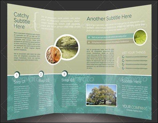 Tri Fold Brochure Template. Trifold Brochure Template Free Vector ...