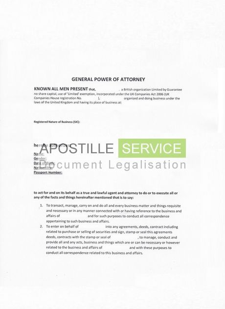 UK Apostille Certificate Service - Legalising documents for overseas
