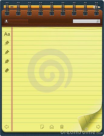 Notepad Design Template