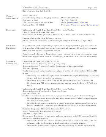 Postdoctoral Cv Pdf. adeline pons s webpage. faculty cover letter ...
