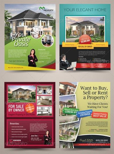 15 Real Estate Flyer Templates for Marketing Campaigns ...