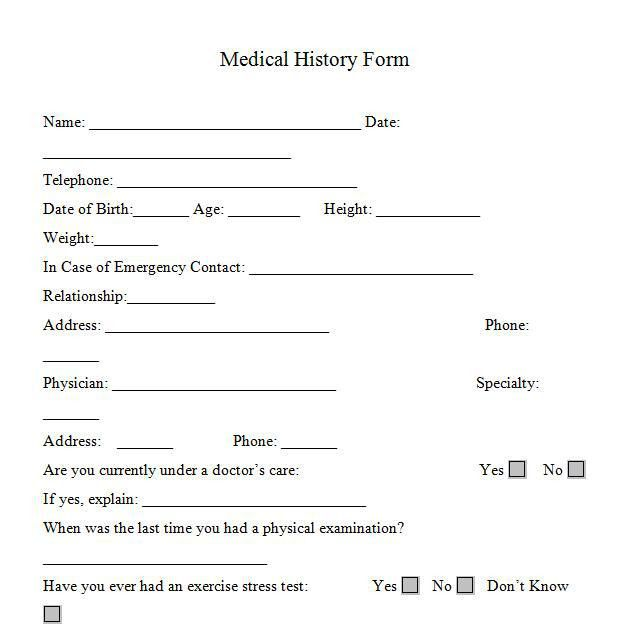 Printable Medical Form. Incident Report Form - Medical And ...