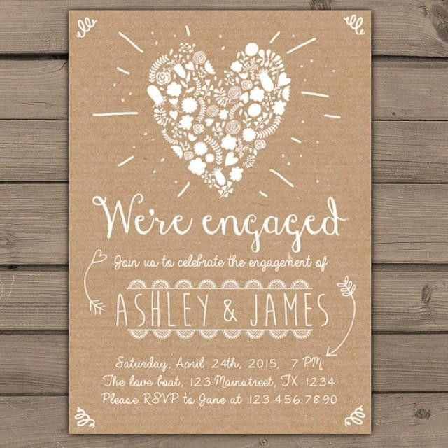 Engagement Party Invitation Engagement Party Invite Engagement ...
