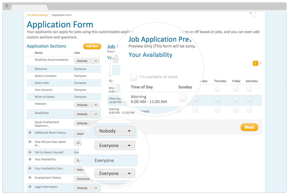 Hire Better Employees—Easy Online Employment Hiring System