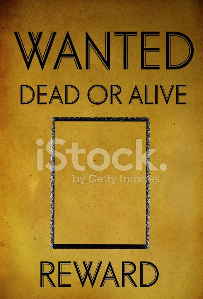 Vintage Wanted Poster Template stock photos - FreeImages.com