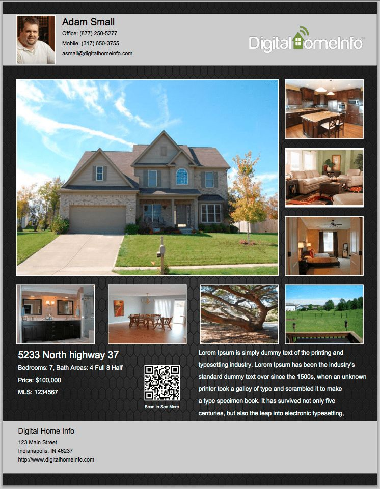 Real Estate Flyer Ideas - Bing Images | flyer ideas | Pinterest ...