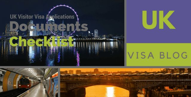 Documents Checklist for UK Visit Visa Applications