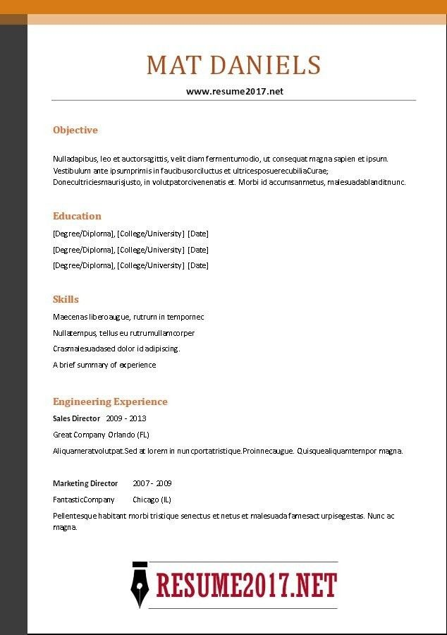 Hybrid Resume Format Examples | Professional resumes sample online