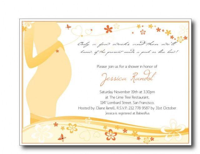 baby shower invitation wording poems babyshowerinvite - Baby ...