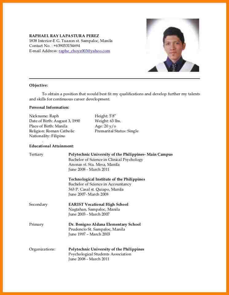 11+ resume sample for job application filipino | farmer resume