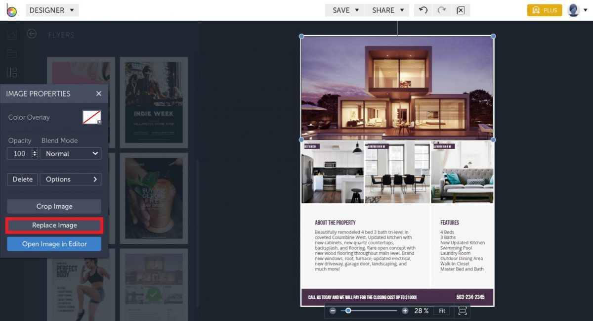 Get More Leads With These Real Estate Flyer Templates – BeFunky Blog