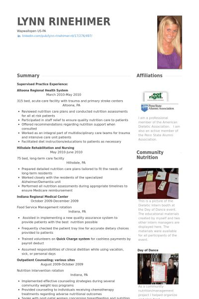 Research Scientist Resume samples - VisualCV resume samples database
