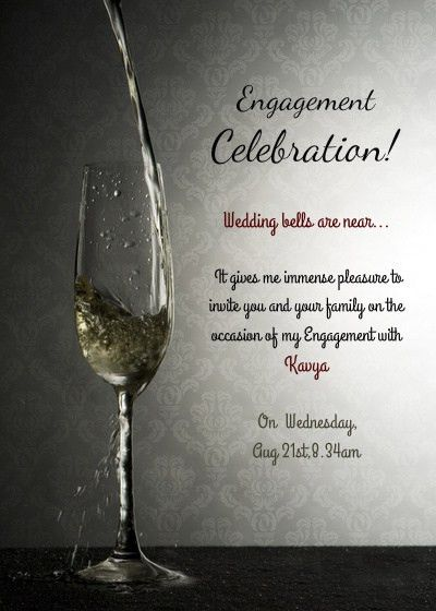 Engagement Ceremony, Online Invitations & Cards by Pingg.com