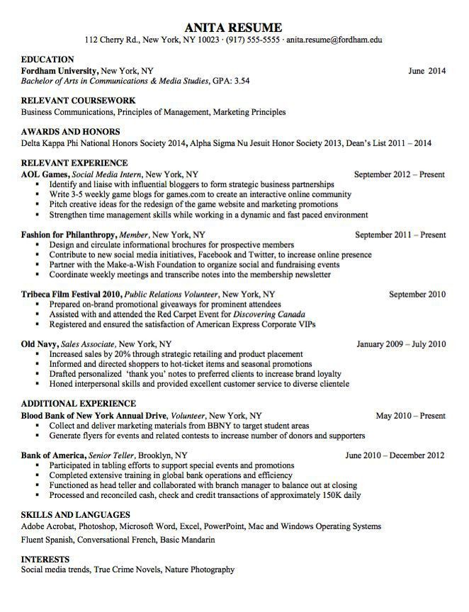 banking sample resume example investment banking careerperfectcom