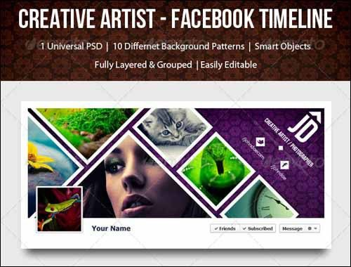 40+ PSD Facebook Timeline Covers You'll Love -DesignBump