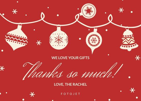 Free Christmas Cards - Make Your Own Christmas Cards Online | FotoJet