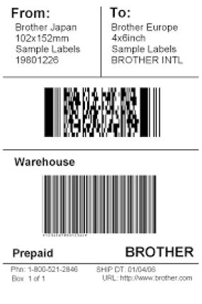 5 Free Shipping Label Templates - Excel PDF Formats