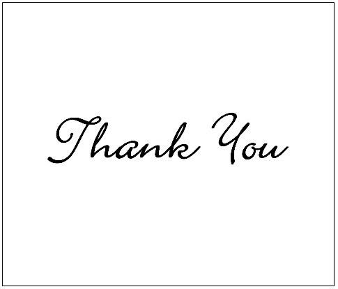 Thank You Card Templates - Thank You Card Templates