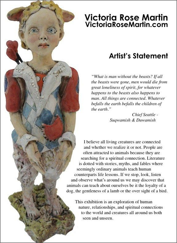 7 Strategies to Writing an Effective Artist's Statement - Create ...