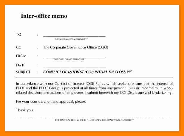 7+ inter office memo format | resumes great