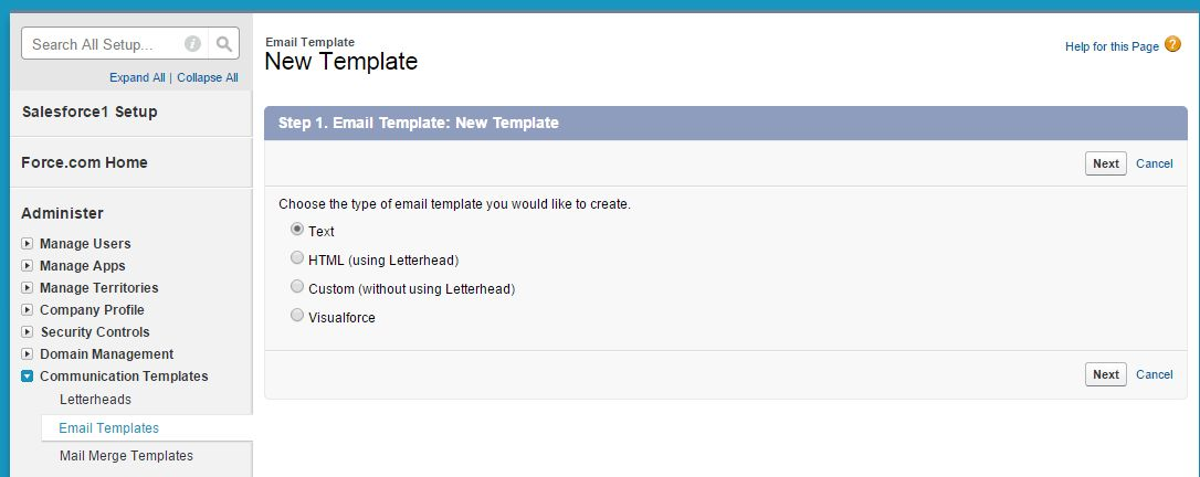 Save Time by Creating Email Templates in Salesforce - Ledgeview ...