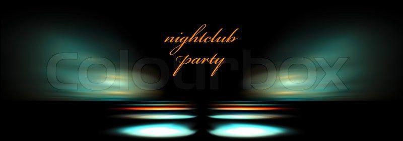 Background for night club flyers   Stock Photo   Colourbox
