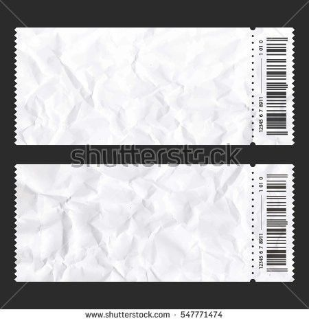 Concert Ticket Stub Stock Images, Royalty-Free Images & Vectors ...