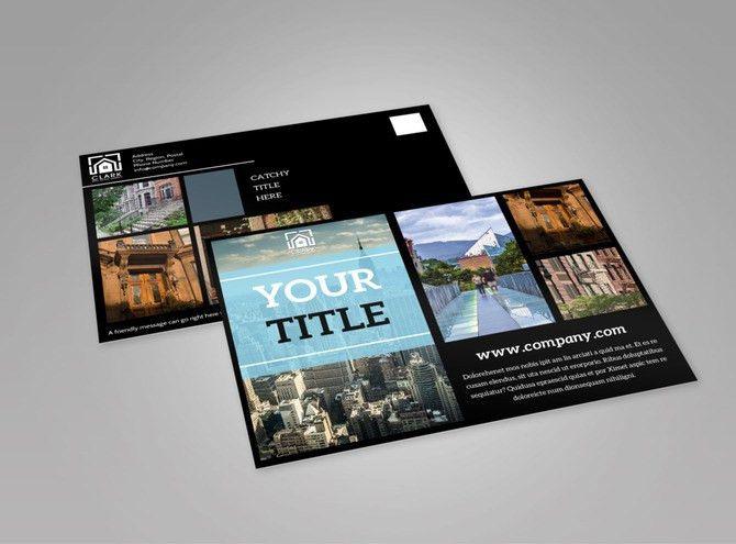 Urban Real Estate EDDM Postcard Template | MyCreativeShop