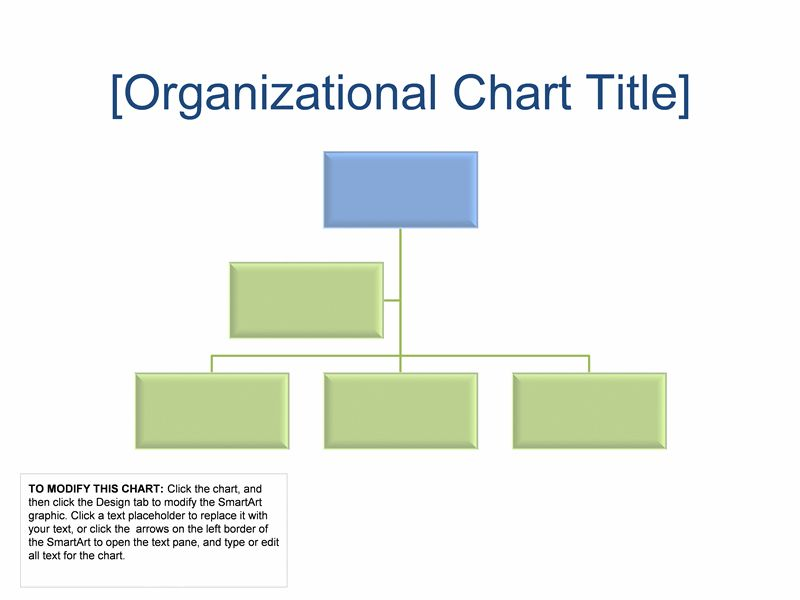 Business organizational chart - Office Templates