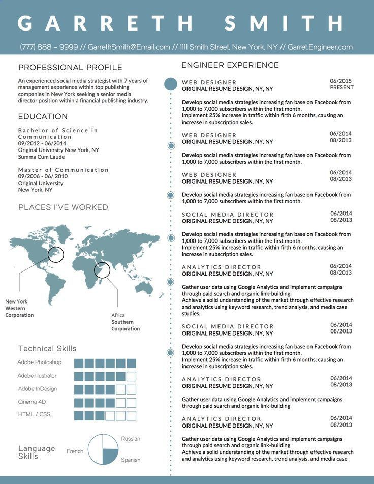 Best 25+ Business resume template ideas on Pinterest | Business ...