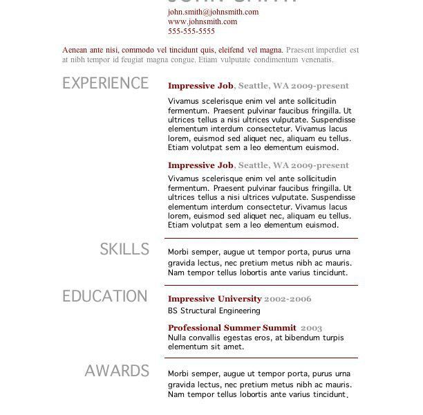 Dazzling Design Inspiration Pages Resume Template 10 7 Free Resume ...