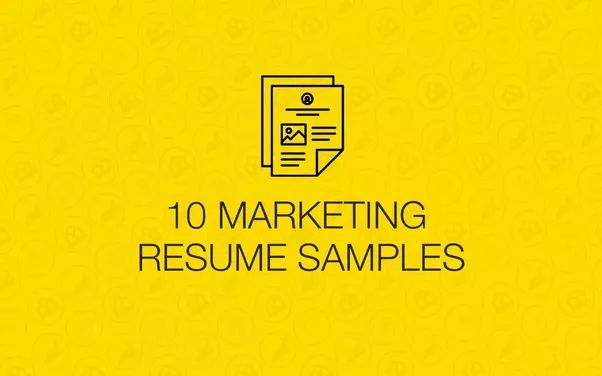 What should be included in a resume for entry-level Marketing jobs ...