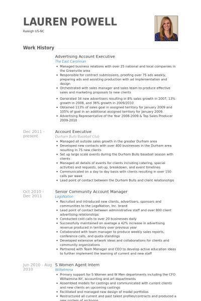 Download Advertising Executive Sample Resume ...