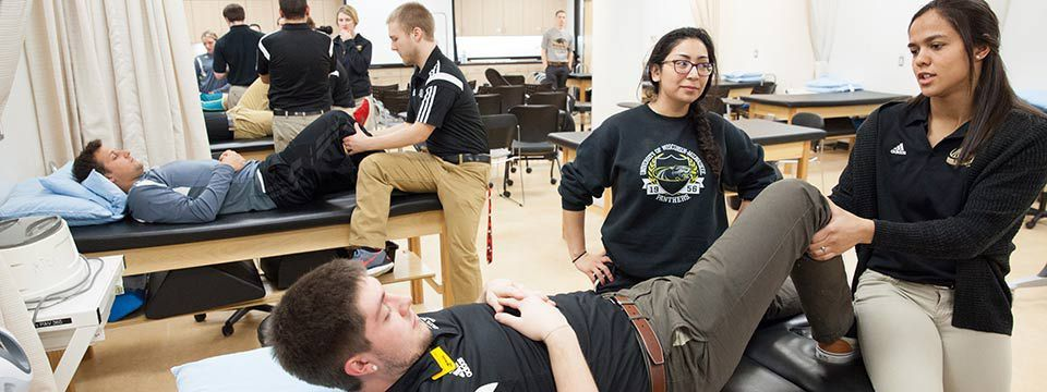 BS Athletic Training (suspended) | College of Health Sciences