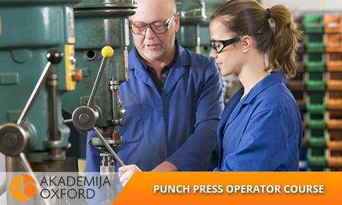 Punch press operator course and training