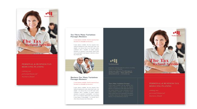 10 Professional Accounting Brochures Templates for Companies _ ...