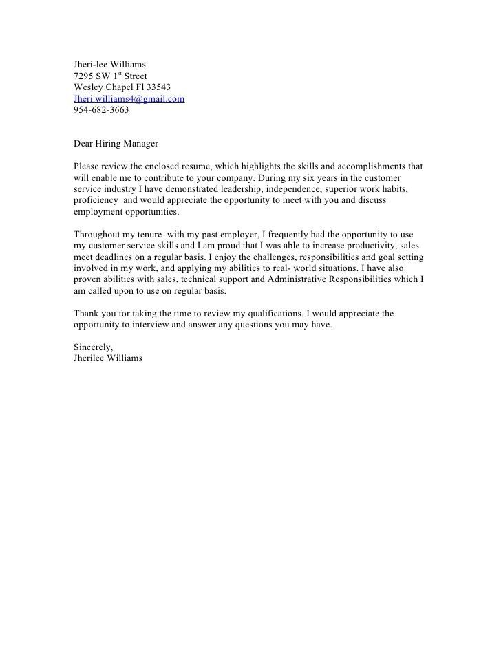 How to write a Cover Letter – in no time for How To Address Cover ...