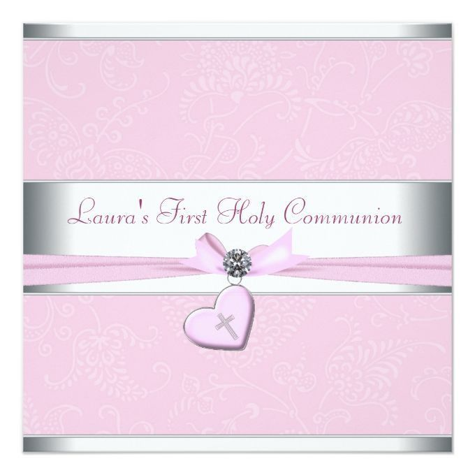 1006 best Communion Invitations images on Pinterest | Communion ...