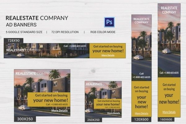 15+ Real Estate Company Templates - PSD, EPS, AI, CDR, Format ...