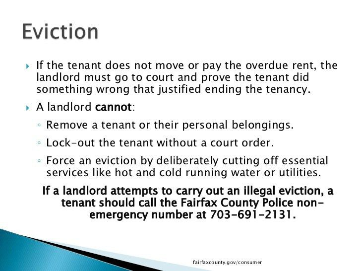What Tenants Need To Know In Fairfax County