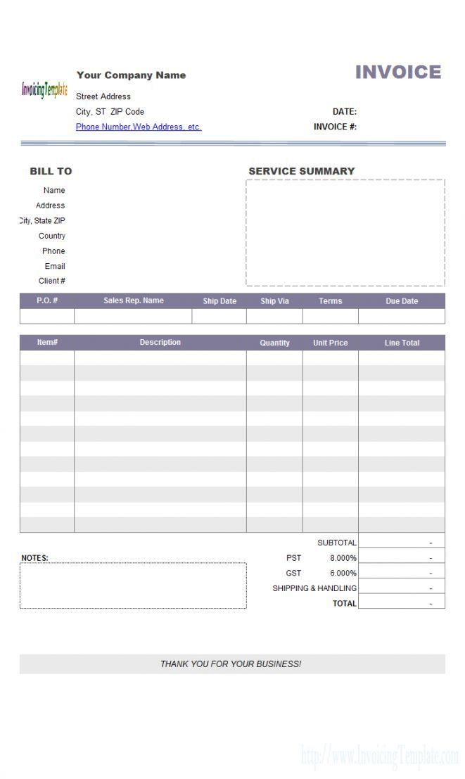 Libreoffice Invoice Template | invoice example