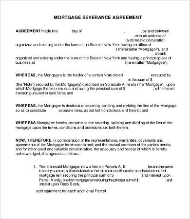 Severance Agreement Templates - 8+Free Word, PDF Documents ...