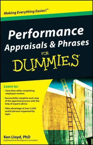 Wiley: Performance Appraisals and Phrases For Dummies - Ken Lloyd