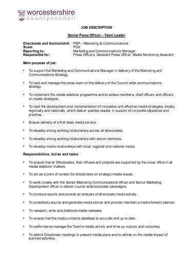 JOB DESCRIPTION Fleet Support Officer Directorate and Section/Unit