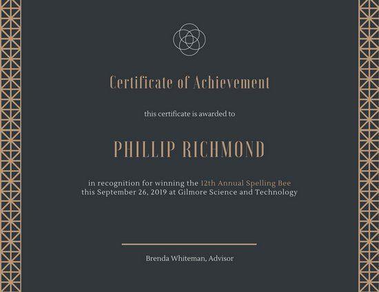 Academic Certificate Templates - Canva