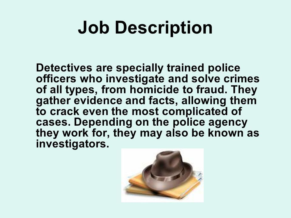 Crime Scene Investigator - ppt download