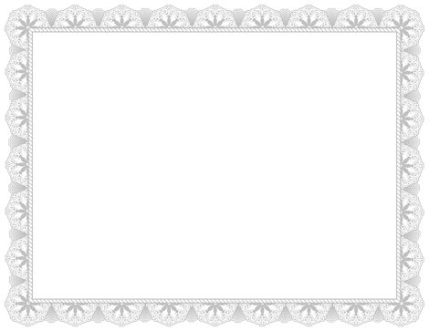 An award certificate border in silver. Free downloads at http ...